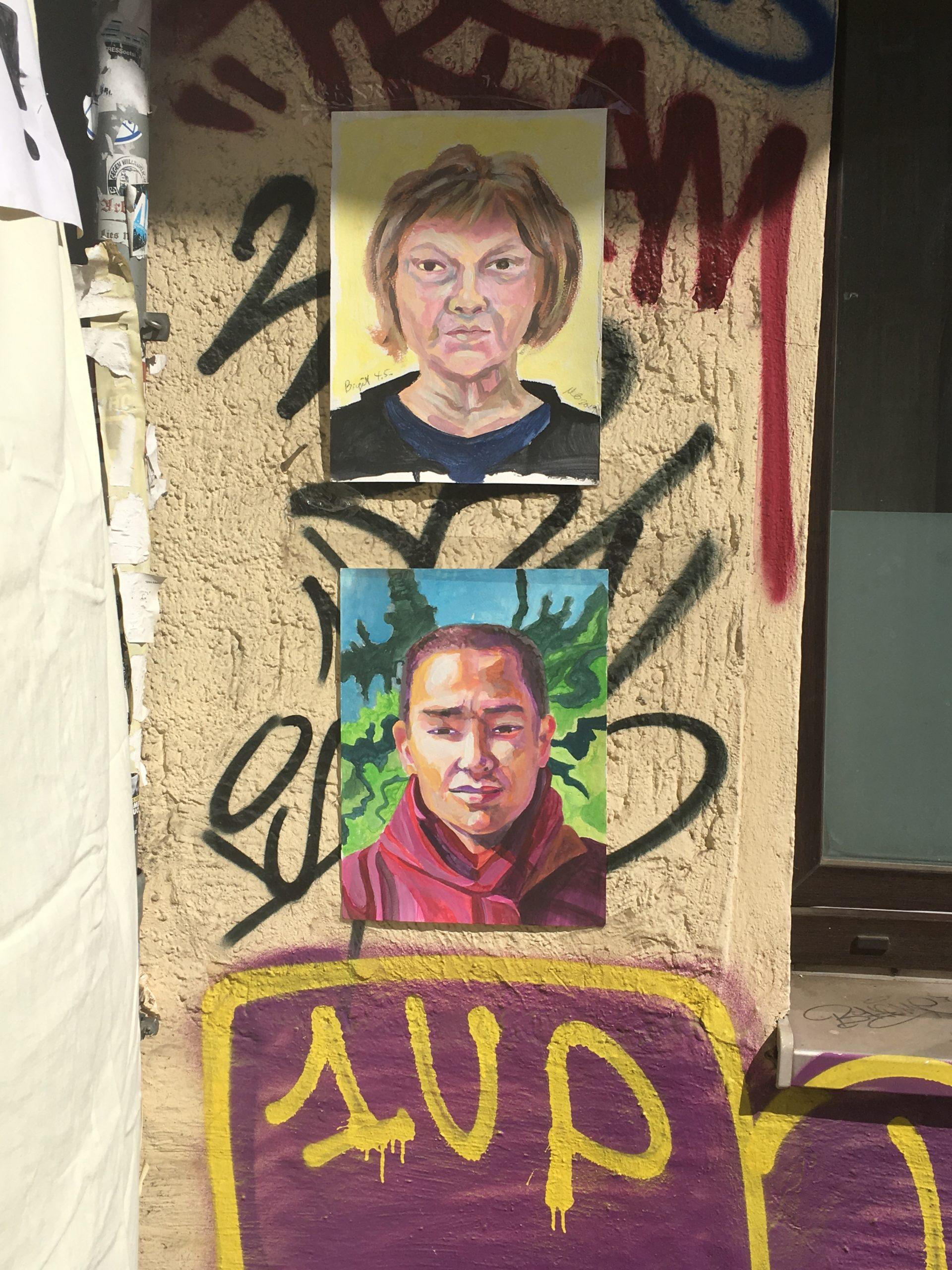 PortraitGraffiti